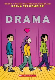 Raina Telgemeier is the author of the bestselling graphic novels Smile and Drama. She is available for virtual author visits via Skype! What! 300 bucks?! A STEAL!!!!