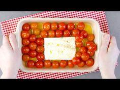Più facile di così! 4 ricette con la pasta ai formaggi - YouTube Gorgonzola Pasta, Mozzarella Pasta, Feta Pasta, Veggie Recipes, Pasta Recipes, Cooking Recipes, Gnocchi Pasta, Baked Cheese, Baked Vegetables