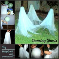 Dancing Ghosts Collage..these do not use stiffener