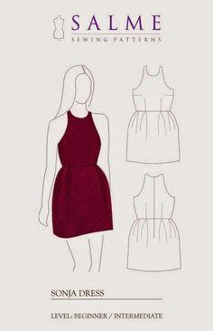 """yo elijo coser: Patrón gratis: vestido """"Sonja"""" en Burda"""