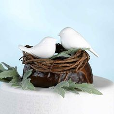 Lvoe Birds Wedding Cake Topper.