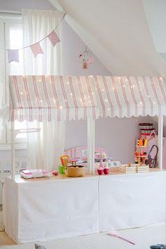 DIY Play Shop for kids room