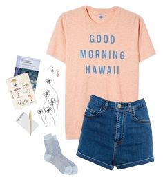 """""""like poetry"""" by cotton-clouds ❤ liked on Polyvore featuring mode, Maria La Rosa, Pull&Bear, Topshop, Patagonia en Kikkerland"""