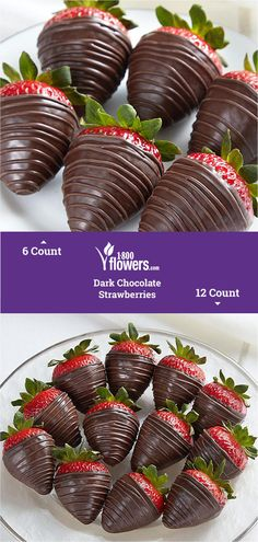 Chocolate covered strawberries make the sweetest gifts. Order chocolate covered strawberries delivered in a box or in a fruit arrangement they'll love! Chocolate Making, How To Make Chocolate, Chocolate Dipped, Chocolate Lovers, Hot Chocolate, Chocolate Covered Strawberries Delivered, Chocolate Strawberries, Delicious Chocolate, Chocolate Recipes