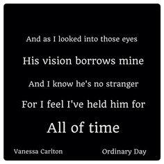 Ordinary Day -Vanessa Carlton