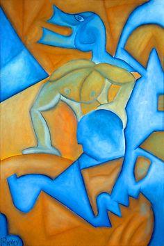 Art by cubist artist: Cliff Richey http://1-cliff-richey.artistwebsites.com