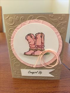 Cowgirl Up Country Living Stampin Up Robin Goodson