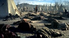 Tipis (or Teepees) at Wounded Knee Creek. Native American Tribes, Native American History, Cherokee History, American Art, La Colonisation, First Nations, Nativity, United States, Survival Weapons