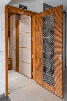 House Main Door Design, House Roof Design, Door Design Interior, Modern Interior, Wooden Door Design, Wooden Doors, Wood Design, Living Room Tv Unit Designs, Modern Door
