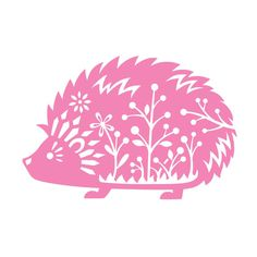 "Hedgehog - Vinyl Decal Sticker - Desert African Pygmy Daurian Sonic 11"" x 7.5"""