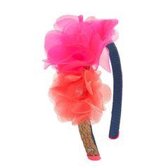 Juicy Couture Dual Flower Headband #VonMaur
