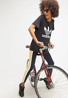adidas Originals - T-Shirt print - black