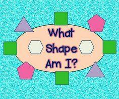 Common Core Shape Riddles - FREE