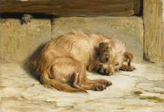 'Watching Dog', Briton Riviere Medium and Support: Oil on canvas Date: 1875