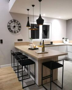 Ambrosial Kitchen design layout sample tricks,Small kitchen remodel ideas 2018 tips and Small eat in kitchen remodel. New Kitchen Cabinets, Kitchen Layout, Kitchen Flooring, Cupboards, Blue Cabinets, Kitchen Appliances, Kitchen Cupboard, Home Decor Kitchen, Kitchen Furniture
