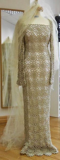 Inspirações de Croche com Any Lucy: Vestido de Noiva                                                                                                                                                                                 Mais