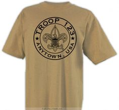 BSA logo Circle 1 Color - Boy Scout™ Troop Design SP6