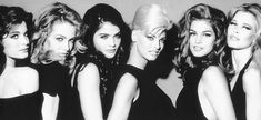 #TBT— Supermodels of the 90s.