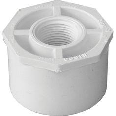 "Genova Products 34227 2"" X 3/4"" PVC Reducing Bushing"