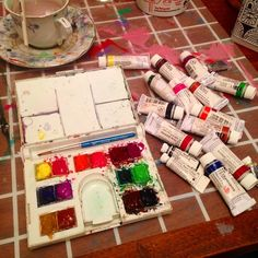 A happy palette is a refilled palette.