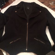 Coat Medium weight fun waist coat..fully lined  barely worn Spense Jackets & Coats