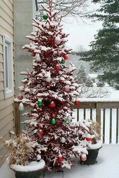 Christmas, the way it was when I was little. All I want for Christmas is a little snow.