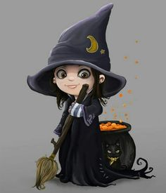 Witch in the making.