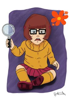 Chibi Velma Dinkley from Scooby-Doo by logan7ms on DeviantArt
