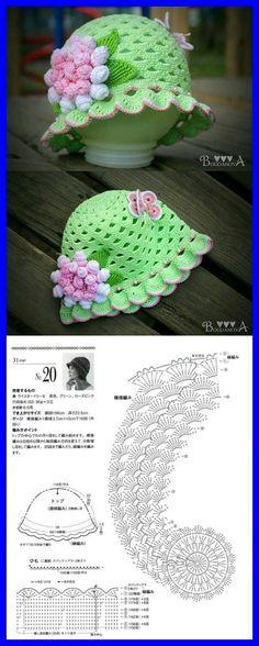41 Ideas Crochet Dress Kids Hats For 2019 Bonnet Crochet, Crochet Cap, Crochet Girls, Crochet Baby Clothes, Crochet Shoes, Crochet Baby Hats, Crochet Beanie, Crochet For Kids, Baby Knitting