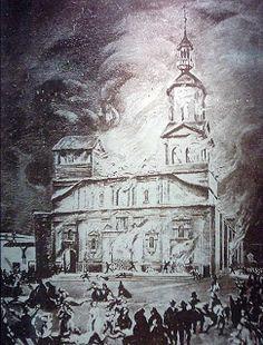 URBATORIVM: EL INCENDIO DE LA COMPAÑÍA DE JESÚS (1863): ANTECEDENTES, DESARROLLO Y CONSECUENCIAS DE LA PEOR TRAGEDIA DE NUESTRA HISTORIA (PARTE I)