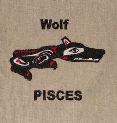 Native American Zodiac Animal: WOLF - February 19 - March 20