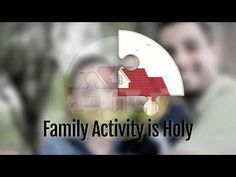 """In the Catholic tradition, the family holds a special place--especially in the formation of faith. So important, in fact, that it is called """"the domestic chu. Reflection Questions, Family Activities, Catholic, Parents, Strong, Faith, Make It Yourself, Youtube, Fathers"""