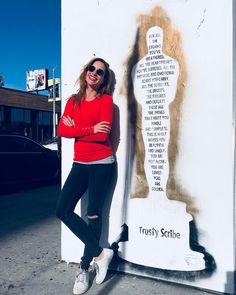 """This picture was taken just a day before it was removed. My friend @trustyscribe spreads such an amazing positive energy full of love through his street art. Thank you!❤️ """"For all the storms you've weathered all the heartbreaks you've suffered, all the physical and emotional scars you carry, all the setbacks, the bruises, the failures and defeats these are the things that make you whole and complete. This is what makes you beautiful and unique. You are not alone. You are loved. You are…"""
