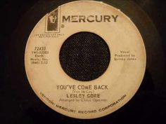 Leslie Gore - You've Come Back - Beautiful Virtually Unknown Ballad ~j