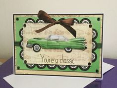 Birthday card using Craft Artist