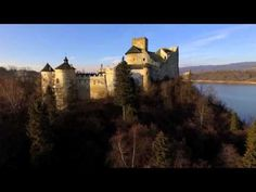 Niedzica Castle located in the southernmost part of Poland (Nowy Targ County in Lesser Poland).