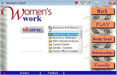 AOL Women's Work Screenshot