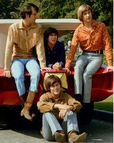 The Monkees. Making me wish I was alive in the 60s since I saw them on Nick at Nite when I was 5!