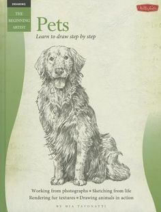Provides techniques for drawing a variety of pets, including drawing action poses and fur textures.