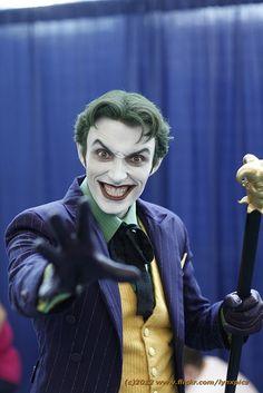 Joker by LynxPics, via Flickr #SDCC2012 #CosplayDoneRight #Cosplay