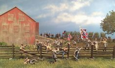 Pickett's Charge by W. Britains
