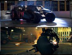 Batman's Tumbler and Bat-Pod go on tour this summer for THE DARK KNIGHT RETURNS