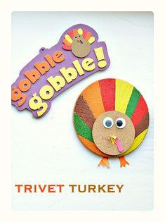 Fun Turkey craft for preschoolers