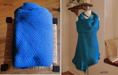 WobiSobi: Suéter Chaleco Wrap, DIY