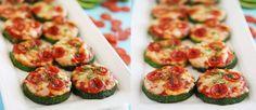 Rápidas y fáciles mini pizzas de calabacín | Cocina y Vino