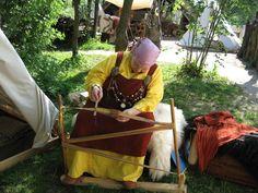 Oseberg Tablet Weaving Loom