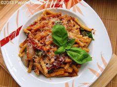 Zermanschte Ofen-Tomaten- Sauce