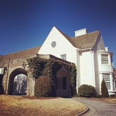 Limestone & Boxwoods - Instagram (@limestonebox) - A funeral home in Midtown Atlanta designed by Shutze.