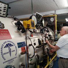 Hyperbaric chamber dive with Dick Rutkowski @ #HyperbaricsInternational by oceandivers_keylargo