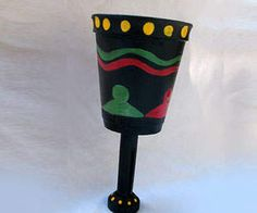 Kids Craft: Make a Unity-Cup to use on the 6th day of Kwanzaa